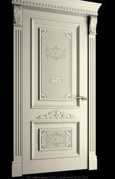 To create a complete image of the interior … – Door Wooden Front Door Design, Door Gate Design, Main Door Design, Wooden Front Doors, House Front Design, Interior Door Trim, Prehung Interior Doors, Door Design Interior, Classic Doors