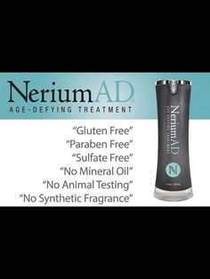 There is nothing out there in the Market place like Nerium AD it's fantastic!  www.worldwideskinbiz.com