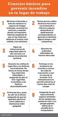 Consejos Básicos para prevenir incendios en el trabajo.