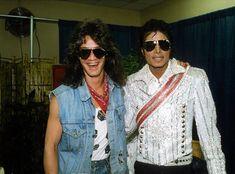 Eddie van Halen y Michael Jackson