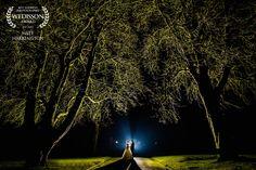 фото на природе с использованием искусственного света(1-2 источника контр.света, либо фары машины)