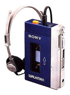 Sony Walkman, Ha, I don't know HOW many of these things I went through in my time, but it was A LOt! The ipod of the past.