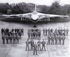 Vulcan Crew Military Jets, Military Aircraft, Vickers Valiant, V Force, Nuclear Force, Avro Vulcan, Old Lorries, Fighter Jets, Fighter Aircraft