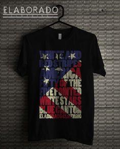 American flag t-shirt Animal Rescue, American Flag, Creative Design, Mens Tops, T Shirt, Fashion, Supreme T Shirt, Moda, Tee Shirt