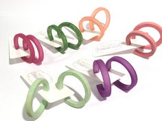 Love these Marbled Jade Hoops! Order yourself a pair for Spring and be in style!