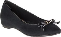 Soft Style Womens Cahill Black Faux SuedeBlack Patent Flat 75 W D >>> Find out more about the great product at the image link. Note:It is Affiliate Link to Amazon.