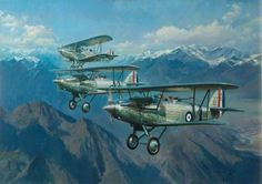 Harts over the Himalayas, developed in the late 20s these aircraft saw extensive service over the NW Frontier in the 30s.