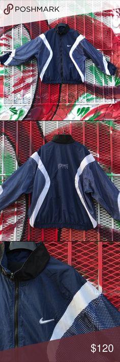 Men s reversible vintage Nike jacket Preown men retro reversible retro Nike  swoosh jacket. VERY RARE e8cdf1ab0