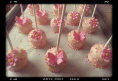 ¤ Mini butterfly & flower cakepops ¤