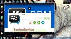Cara instal BBM DI PC/Laptop/Netbook Dengan BlueStack
