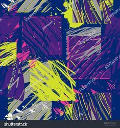 Grunge geometric pattern for boys and girls. Creative urban style for sport clothes (Jacket, trousers), backpacks and other. Abstract seamless background for guys. Grunge, Seamless Background, Urban Fashion, Creative Design, Girls, Challah, Boy Or Girl, Urban Style, Royalty Free Stock Photos