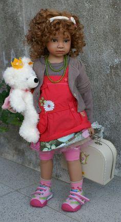 Fanny. Inspiration''Arlene's Dolls - Angela Sutter Dolls