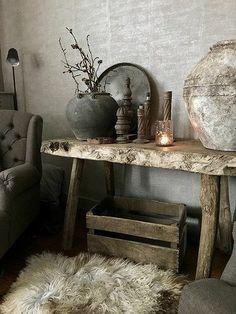 Rustic Design, Rustic Decor, Interior Design Living Room, Interior Decorating, Rustic Lighting, Rustic Interiors, Wabi Sabi, Home Decor Inspiration, Room Decor