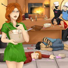 Welcome in Titans' kitchen by BIazeRod