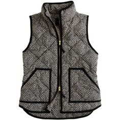 J. Crew  Herringbone Excursion Quilted Vest  $138