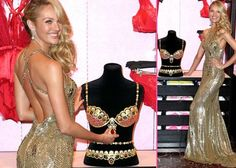 Candice Swanepoel Reveals the $10 Million VS Royal Fantasy Bra in the Big Apple