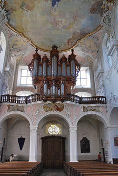 Orgue Silbermann Collégiale Arlesheim