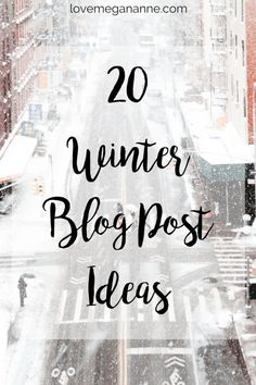 20 Winter Blog Post