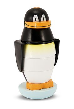 Cooper would LOVE this one... Penguin Stacker Toddler Toy
