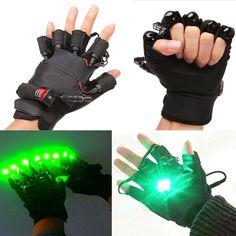 Diese Laser Handschuhe mit 4 grünen Laserpointer, Laser Handschuh leicht, atmungsaktiv, Laser Handschuhe sind dabei Shows genießen. 18650 Lithium-Ionen-Batterie-betriebene Laser-Handschuhe werden gestellt. Able nach 2-3 Stunden vollständig aufgeladen zu verwenden.Aktivieren Sie ein paar Handschuhe, zwei Maßnahmen. Wenn Sie nur eines wollen, bitte geben Sie links/rechts.