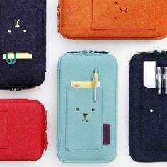 Gypsy Travel Pack Your Bags| Serafini Amelia| Toffee Nut Felt Pouch