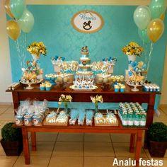 ANALU FESTAS: Chá de bebe Cavalinho de Balanço (cavalinho de madeira) para o Bruno