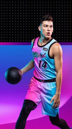 Miami Heat Tyler Herro Wallpaper #Miami #Heat #Bucket Miami Heat Basketball, Nba Miami Heat, Love And Basketball, Basketball Players, Basketball Art, Kyrie Irving Celtics, Kobe Bryant Michael Jordan, Real Madrid Football, Nba Sports