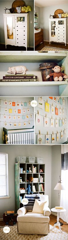 Real nursery: Henry's Thoughtfully Vintage Nursery