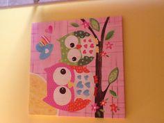 Set of 4 8x10 Owl prints matches | Owl Obsession | Pinterest | Owl ...
