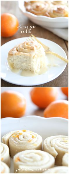 Easy orange rolls in less than an hour {just 10 minutes hands on time!} These light & fluffy orange rolls are a breakfast & brunch favorite, perfect for entertaining!