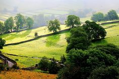 Malham Landscape, Malham is a village and civil parish in the Craven district of North Yorkshire, England wallpapers