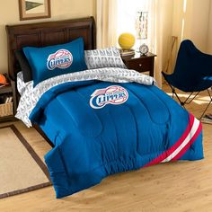 Los Angeles Clippers NBA Bed In A Bag (Twin)