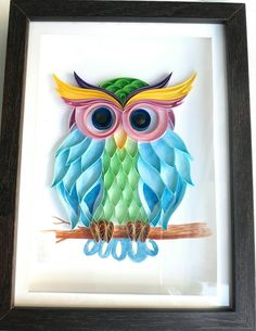 13 Paper Quilling Design Ideas That Will Stun Your Friends Paper Quilling For Beginners, Paper Quilling Tutorial, Paper Quilling Patterns, Quilling Ideas, Arte Quilling, Origami And Quilling, Quilling Paper Craft, Paper Crafts, Paper Owls