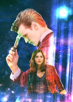 The Doctor and Clara by Esterath13 on @DeviantArt