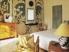 Mas Mireio - Jacques Grange's Provencal home, from July 1989 HC magazine