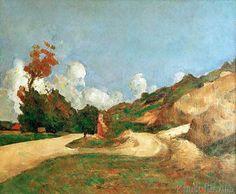 Paul Cézanne - La Route