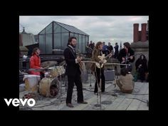 The Beatles last live concert; The Rooftop Concert; London, January, The Beatles - Don't Let Me Down. Don't Let Me Down, Let It Be, Rock Roll, Pop Rock, Yoko Ono, Music Songs, My Music, Music Videos, Linda Mccartney