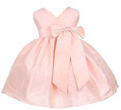 Sweet Kids Baby-Girls Criss Cross Bow Dress 6M (Small) Pink (Sk B931) sweet kids,http://www.amazon.com/dp/B007A5E2PM/ref=cm_sw_r_pi_dp_uaMRsb01381Z6KY9