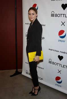 The Olivia Palermo Lookbook : Olivia Palermo at the Narciso Rodriguez Bottletop Collection x Pepsi Launch Party