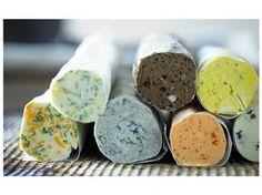 Recetas para mantequillas exquisitas