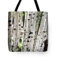 Aspen In Arizona Tote Bag by Tom Janca.  The tote bag is machine washable, available in three different sizes, and includes a black strap for easy carrying on your shoulder.  All totes are available for worldwide shipping and include a money-back guarantee.