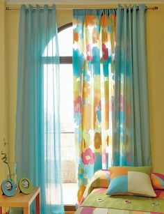 Beautiful Colorful Curtain Ideas To Make Amazing Scenery In Your Home