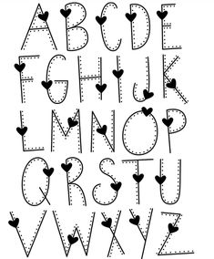 Handlettering alphabet, handlettering, handlettering quotes, handlettering fonts… – Come Back to School Hand Lettering Alphabet, Doodle Lettering, Lettering Styles, Alphabet Fonts, Doodle Alphabet, Doodle Fonts, Pretty Fonts Alphabet, Alphabet Worksheets, Font Styles Alphabet