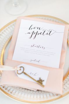 Blush and gold: http://www.stylemepretty.com/california-weddings/santa-ynez/2015/05/05/santa-ynez-winery-elopement/ | Photography: Anna J - http://www.annaj-photo.com/