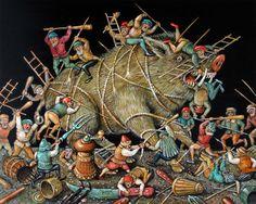 Surrealism and Visionary art: Sergey Tyukanov