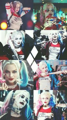 "Margot Robbie as Harley Quinn in ""Suicide Squad"""