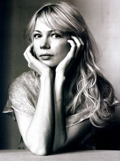 I have seen Michelle Williams in some depressing films but I watch them for her.