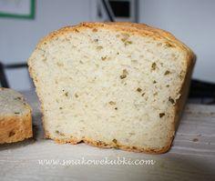 Chleb pszenny z mascarpone i szczypiorkiem