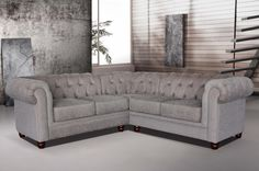 Darcy Chesterfield Corner Sofa