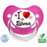 Tétine I love bisous